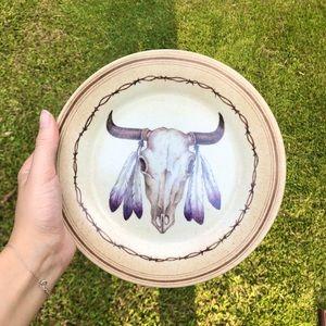 Boho Decorative Plate
